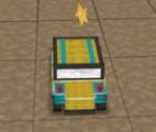 3D Minecraft Araba