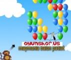 Maymunla Balon Patlatma