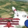 3D Kırmızı Uçak