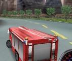 3D İtfaiye arabası