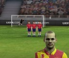 Sneijder şut çekme oyunu