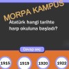 Morpa Kampüs bilgi yarışması oyna