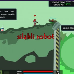 Robot Dövüşü Savaşçı Robot Silahlı Robot