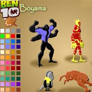 Ben 10 Boyama