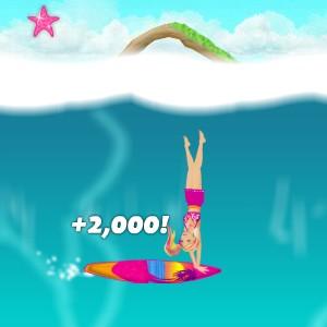 Barbie Sörf Yapıyor