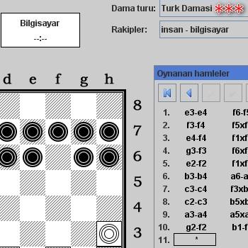 türk daması oyna