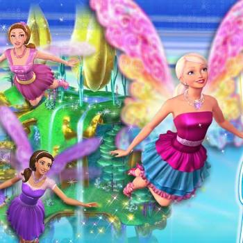 Barbie uçuyor