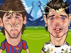 Futbol yıldızlarına tokat at