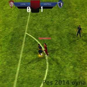 pes 2014 gerçek futbol oyunu 3D